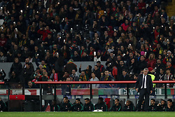 November 20, 2018 - Guimaraes, Guimaraes, Portugal - Fernando Santos head coach of Portugal during the UEFA Nations League football match between Portugal and Poland at the Dao Afonso Henriques stadium in Guimaraes on November 20, 2018. (Credit Image: © Dpi/NurPhoto via ZUMA Press)