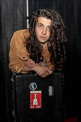 May 25, 2018 - Napa, California, U.S - BILLY RAFFOUL poses for a portrait backstage during BottleRock Music Festival at Napa Valley Expo in Napa, California (Credit Image: © Daniel DeSlover via ZUMA Wire)