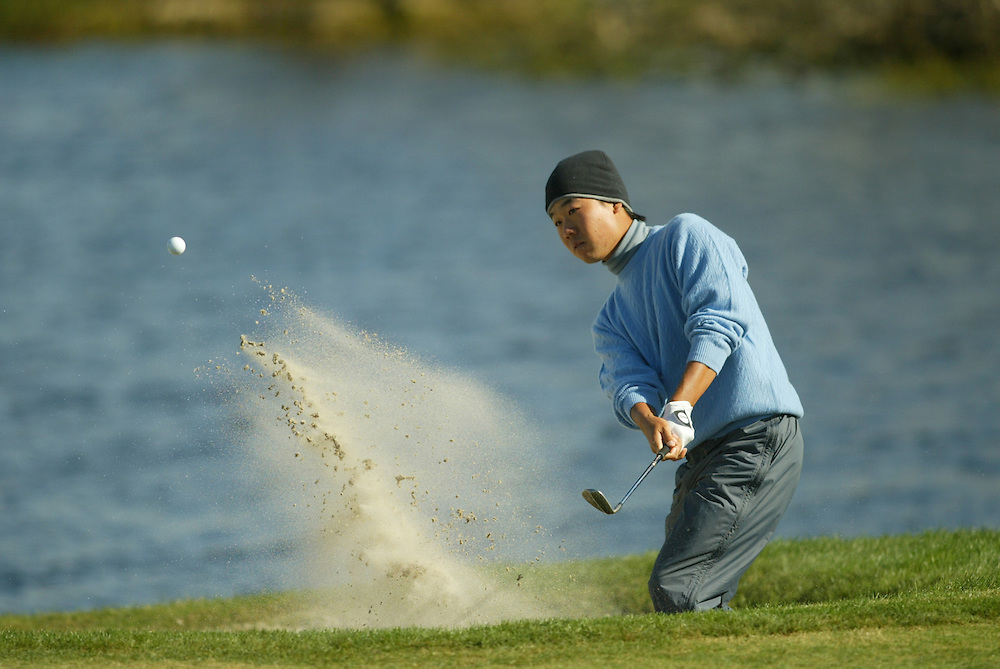 Kevin Na..2003 PGA Tour Qualifying, Final Stage.Fourth Round.Orange County National GC.Orlando, FL.Saturday, December 6  2003..Photograph by Darren Carroll..