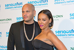 Stephen Belafonte and Melanie Brown attending the Serious Fun Children's Network London Gala at The Roundhouse, London.