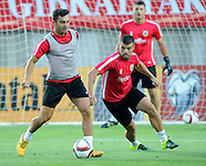 Gibraltar Training & Press Conference 030915