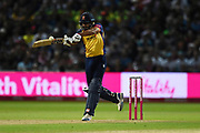 Ravi Bopara of Essex Eagles batting during the Vitality T20 Finals Day 2019 match between Worcestershire County Cricket Club and Essex County Cricket Club at Edgbaston, Birmingham, United Kingdom on 21 September 2019.