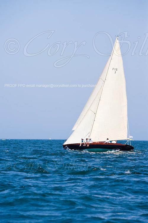 Kestrel sailing in the Opera House Cup Regatta.