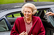 12-5-2017 ZEIST - Prinses Beatrix der Nederlanden is vrijdagmorgen 12 mei 2017 in Zeist aanwezig bij het symposium 'Muscles2Meet - Neuromuscular Young Talent Symposium', een initiatief van het Prinses Beatrix Spierfonds.COPYRIGHT ROBIN UTRECHT/jesper Drenth <br /> <br /> 12-5-2017 ZEIST - Princess Beatrix of the Netherlands is present in Zeist on Friday morning 12 May 2017 at the symposium Muscles2Meet - Neuromuscular Young Talent Symposium, an initiative of the Princess Beatrix Muscle Fund. COPYRIGHT ROBIN UTRECHT / Jesper Drenth