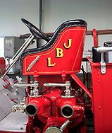 The fire truck at the LBJ Ranch near Johnson City Texas.<br />