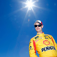 June 23, 2018 - Sonoma, California , USA: Joey Logano (22) gets ready to qualify for the TOYOTA/SAVE MART 350 at Sonoma Raceway in Sonoma, California .