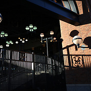 NEW YORK, NEW YORK - APRIL 12: The late afternoon light shines into Citi Field before the Miami Marlins Vs New York Mets MLB regular season ball game at Citi Field on April 12, 2016 in New York City. (Photo by Tim Clayton/Corbis via Getty Images)