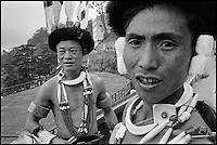 Inde. Assam. Ethnie Naga. // India. Assam. Naga tribesman.