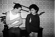 Gavin and Lorp at 16 Hawthorne Road, UK, 1980s.