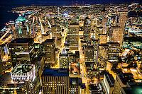 Seattle City Centre @ Night