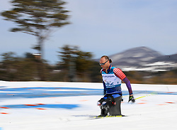 USA's Andrew Soule competes in the Men's 7.5km, Sitting Cross Country Skiing, at the Alpensia Biathlon Centre during day eight of the PyeongChang 2018 Winter Paralympics in South Korea