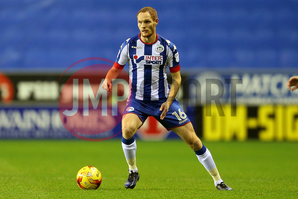 Shaun MacDonald of Wigan Athletic - Mandatory by-line: Matt McNulty/JMP - 03/02/2017 - FOOTBALL - DW Stadium - Wigan, England - Wigan Athletic v Sheffield Wednesday - Sky Bet Championship