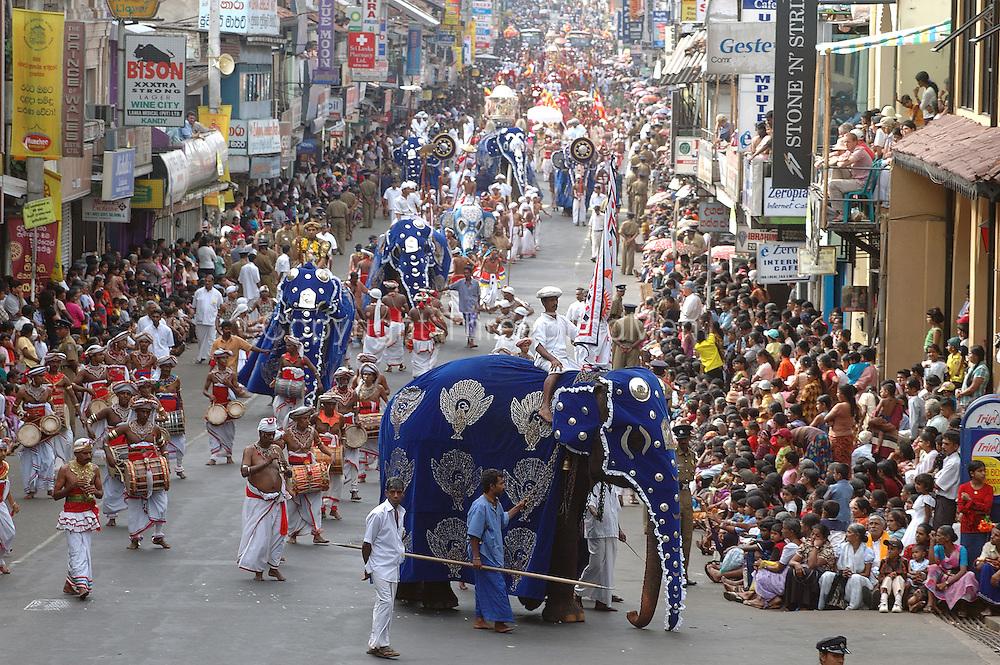 Sri Lanka Procession Of The Tooth Kandy Perahera