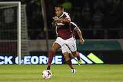 Northampton Town striker Kenji Gorre (11)  during the EFL Cup Third Round match between Northampton Town and Manchester United at Sixfields Stadium, Northampton, England on 21 September 2016. Photo by Phil Duncan.