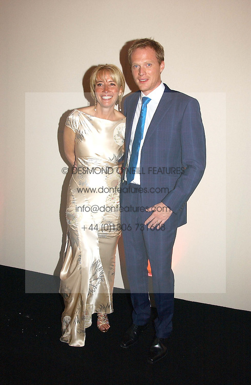 EMMA THOMPSON and PAUL BETTANY at the 2006 Glamour Women of the Year Awards 2006 held in Berkeley Square Gardens, London W1 on 6th June 2006.<br />