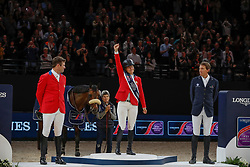 Madden Beezie, USA, Ryan Devin, USA, Von Eckermann Henrik, SWE<br /> LONGINES FEI World Cup™ Finals Paris 2018<br /> © Dirk Caremans<br /> 15/04/18