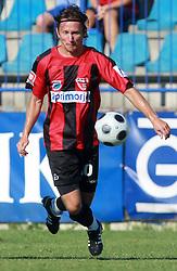 Nedzad Serdarevic (10) of Primorje at 6th Round of PrvaLiga Telekom Slovenije between NK Primorje Ajdovscina vs NK Rudar Velenje, on August 24, 2008, in Town stadium in Ajdovscina. Primorje won the match 3:1. (Photo by Vid Ponikvar / Sportal Images)