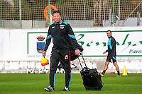 BENAHAVIS - 03-01-2017, Trainingskamp, AZ, Assistent trainer Leeroy Echteld