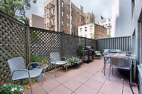 Patio at 101 West 12th Street
