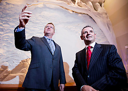 Repro Free:  Dublin: 05/10/2015<br /> Oisin Geoghegan, Head of Enterprise and Paul Reid, Chief Executive at Fingal County Council are pictured at the &lsquo;Fingal Start-up Day&rsquo; witch kick started Fingal Enterprise Week where over 1,200 business owner/managers are expected to participate in 30+ seminars, workshops and networking events taking place throughout the region this week. An initiative of the Fingal Local Enterprise Office and supported by Vodafone and Bank of Ireland, Fingal Enterprise Week runs until the 9th of October. For a full listing of events visit www.fingalenterpriseweek.ie.  Picture Andres Poveda<br /> <br /> ENDS:<br /> For further information contact:<br /> Ann-Marie Sheehan, Aspire PR T : 087 298 5569 E : annmarie@aspire-pr.com