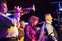 Rosemary's Baby Blues at Pitman's Freight Room Friday evening.  (Karen Bobotas/for the Laconia Daily Sun)