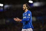 Portsmouth Defender, Christian Burgess (6) during the EFL Sky Bet League 1 match between Portsmouth and Southend United at Fratton Park, Portsmouth, England on 18 November 2017. Photo by Adam Rivers.