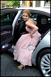 Geri Halliwell after the wedding of Poppy Delevingne to James Cook at St.Paul's Church in Knightsbridge, London,  Friday, 16th May 2014. Picture by Andrew Parsons / i-Images