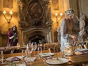 ELOISE FRASER; LUCY CARR-ELLISON, Bella Howard 30th birthday, Castle Howard, Dress code: Flower Fairies and Prince Charming, 3 September 2016