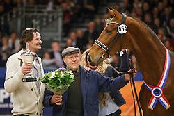 654 - Garino<br /> KWPN Stallion Selection - 's Hertogenbosch 2014<br /> © Dirk Caremans