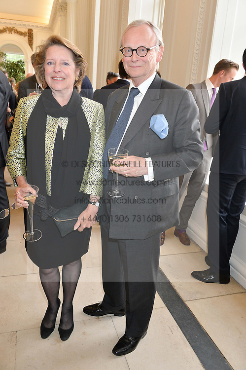 LORD & LADY DEBEN at a party to celebrate the 150th anniversary of Wartski held at The Orangery, Kensington Palace, London, on 19th May 2015.