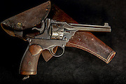 Webley Fosbery .38 ACP with Holster