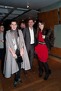 GRACE WOODWARD; GARETH WILLIAMS; LARA BOHINC, Ron Arad; Restless. Cocktail reception hosted by Kate Bush of the Barbican and Tony Chambers of Wallpaper magazine. Barbican art Gallery. London. 17 September 2010