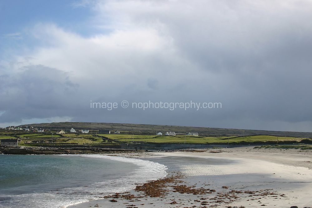 Beach on Inis Mor the Aran Islands