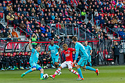 ALKMAAR - 22-04-2017, AZ - FC Twente, AFAS Stadion,2-1, AZ speler Dabney dos Santos Souza