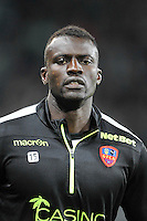 Kader MANGANE - 17.10.2015 - Saint Etienne / Gazelec Ajaccio - 10eme journee de Ligue1<br /> Photo : Jean Paul Thomas / Icon Sport