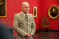 The new Foreign Legion Museum, in Aubagne.<br /> General of Division J. Maurin, Commander of the French Foreign Legion, in the Honour's Hall of Foreign Legion's Museum in Aubagne.
