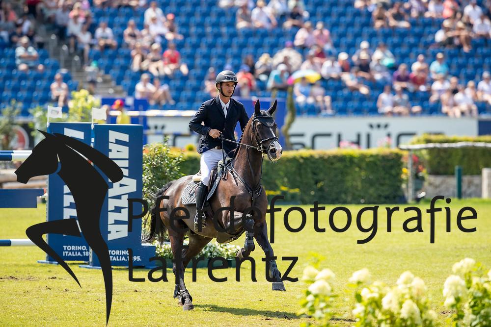 GUERDAT Steve (SUI), Alamo<br /> Aachen - CHIO 2018<br /> Preis von Nordrhein-Westfalen<br /> 20. Juli 2018<br /> © www.sportfotos-lafrentz.de/Stefan Lafrentz