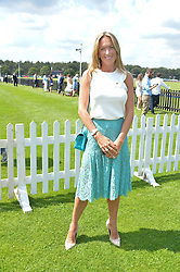 EMILY CANDY at The Royal Salute Coronation Cup Polo held at Guards Polo Club,  Smiths Lawn, Windsor Great Park, Egham on 23rd July 2016.