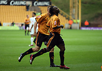 Photo: Rich Eaton.<br /> <br /> Wolverhampton Wanderers v Luton Town. Coca Cola Championship. 26/08/2006. Jemal Johnson of Wolves celebrates his goal