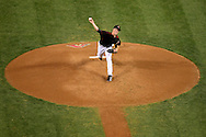 PHOENIX, AZ - APRIL 30:  Zack Greinke #21 of the Arizona Diamondbacks delivers a pitch in the third inning against the Colorado Rockies at Chase Field on April 30, 2016 in Phoenix, Arizona.  (Photo by Jennifer Stewart/Getty Images)