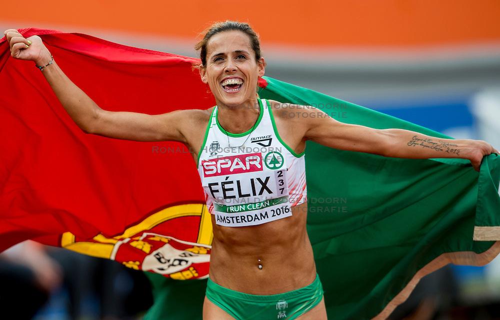06-07-2016 NED: European Athletics Championships, Amsterdam<br /> Dulce Felix POR