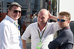 06.09.2014, Autodromo di Monza, Monza, ITA, FIA, Formel 1, Grand Prix von Italien, Qualifying, im Bild (L to R): Mark Blundell (GBR), Perry McCarthy (GBR) and Allan McNich (GBR). // during the Qualifying of Italian Formula One Grand Prix at the Autodromo di Monza in Monza, Italy on 2014/09/06. EXPA Pictures © 2014, PhotoCredit: EXPA/ Sutton Images<br /> <br /> *****ATTENTION - for AUT, SLO, CRO, SRB, BIH, MAZ only*****