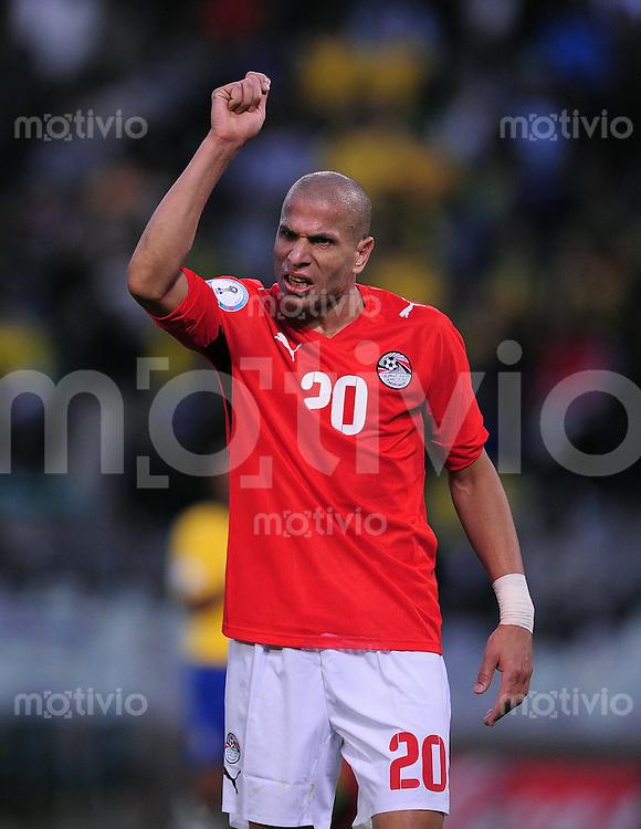 Fussball  International FIFA Confederations Cup 2009 Brasilien - Aegypten WAEL GOMAA  (EGY)