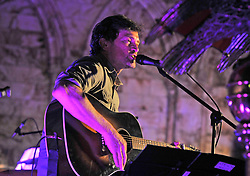 Steve Wall of The Stunning performing at Holy Trinity Church at Westport Arts Festival 2017. <br /> Photo Conor McKeown
