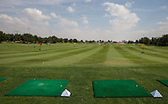 The practice driving area, The Track at The Meydan Golf Club, Dubai, United Arab Emirates.  31/01/2016. Picture: Golffile | David Lloyd<br /> <br /> All photos usage must carry mandatory copyright credit (© Golffile | David Lloyd)