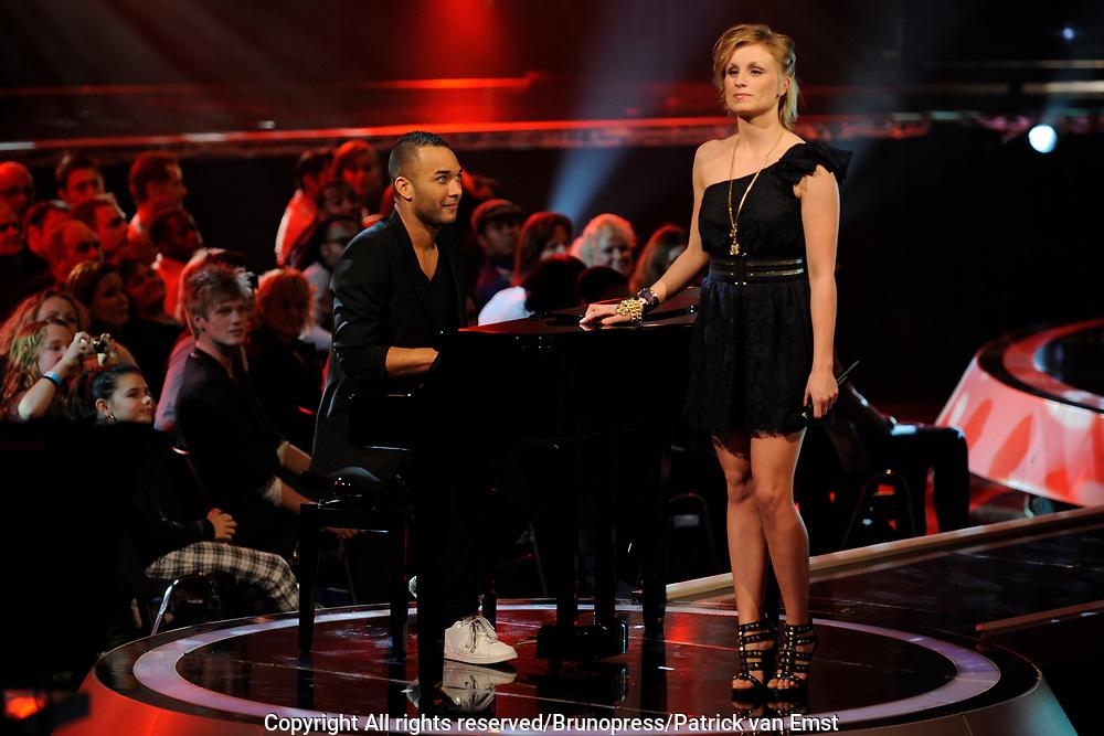 Halve Finale Popstars vanuit Studio 22 in Hilversum Op de foto:<br />  Kim