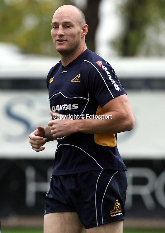 Stirling Mortlock - Australia captain<br />