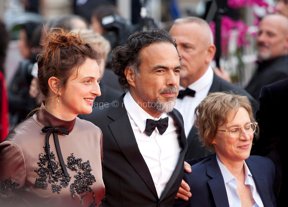 Directors Alice Rohrwacher, Alejandro Gonzalez Inarritu and Kelly Reichardt at the Opening Ceremony and The Dead Don't Die gala screening at the 72nd Cannes Film Festival Tuesday 14th May 2019, Cannes, France. Photo credit: Doreen Kennedy