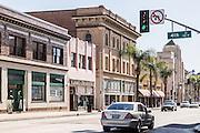 Downtown Santa Ana at 4th and Main
