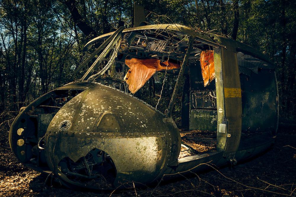 Derelict UH-1H